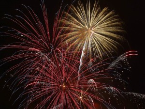 When is the Firework Display in Great Yarmouth?